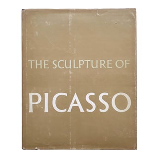 """ the Sculpture of Picasso "" Rare Vintage 1967 1st Edition Iconic Moma Exhibition Collector's Hardcover Photogravure Modern Art Book For Sale"