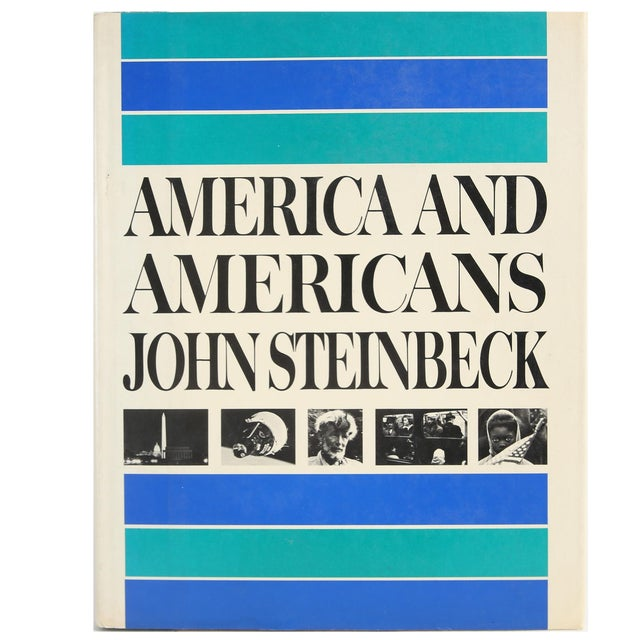 """1966 """"America and Americans"""" Coffee Table Book For Sale"""