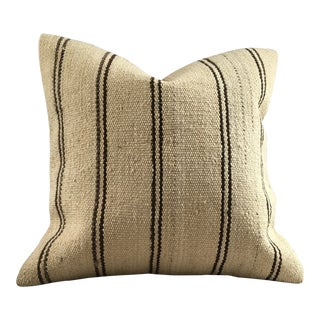 Vintage Kilim Accent Pillow Cover For Sale