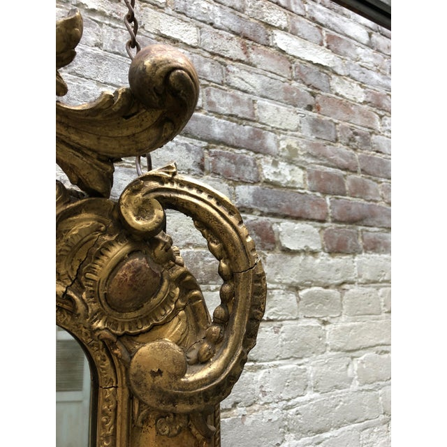 Early 19th Century Special 19th Century Mirror From the South of France For Sale - Image 5 of 12