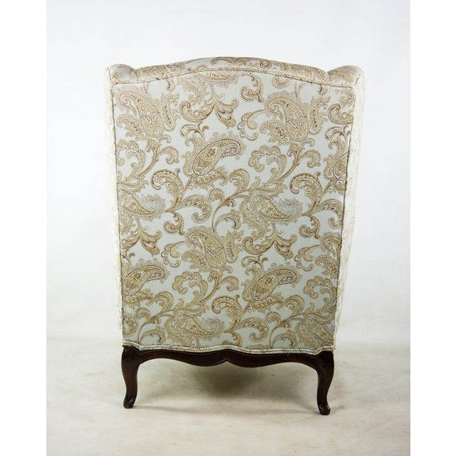 19th C. French Louis XV Style Low Bergere Chair For Sale - Image 10 of 11