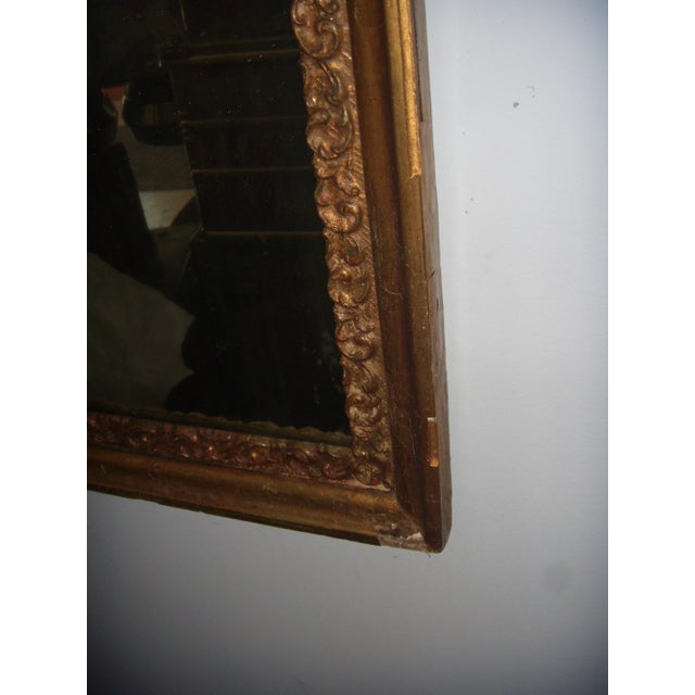 Antique Italian Gilt Cherub Mirror - Image 10 of 12