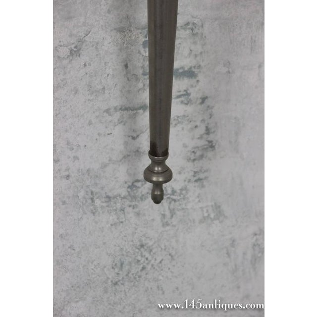 Pair of Nickel-Plated Sconces - Image 4 of 11
