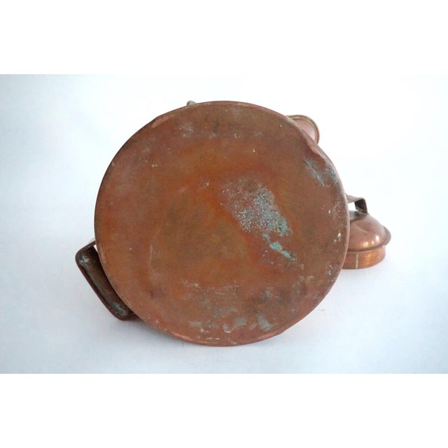 Antique Copper & Brass Kettle - Image 6 of 11