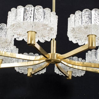 Large Chandelier, Orrefors Attributed Preview