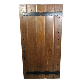 1930s Spanish Revival Style Front Entry Door For Sale