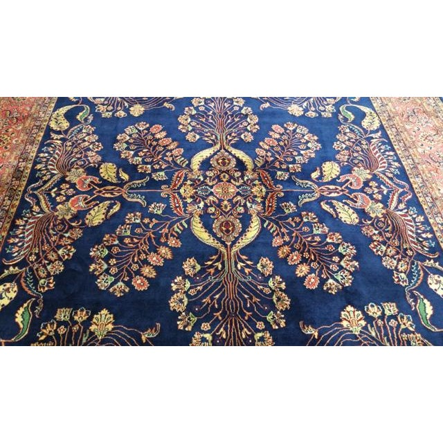 2000s Traditional Wool Handmade Rug For Sale - Image 5 of 7