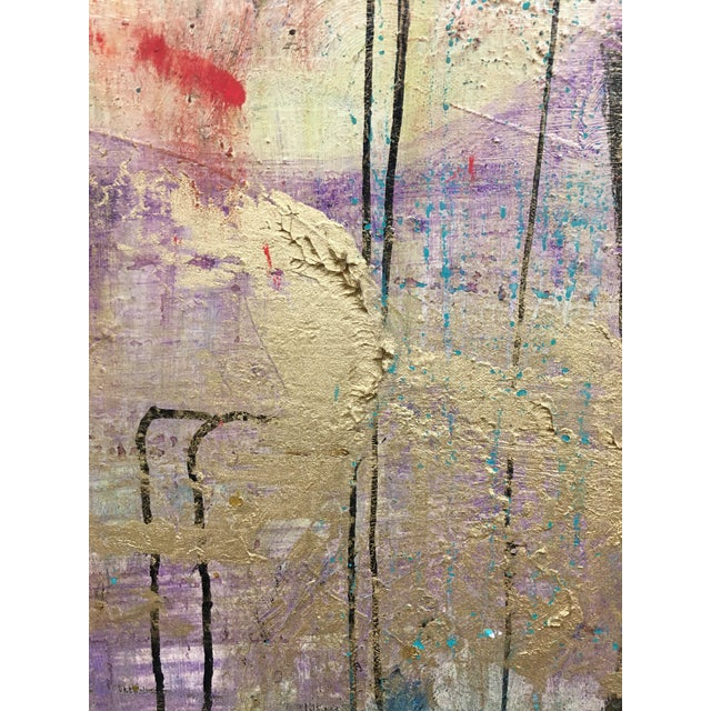 Acrylic Intuition by Willie Heeks For Sale - Image 7 of 9