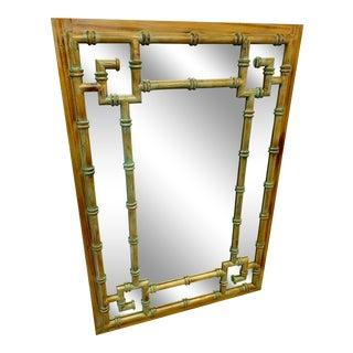 Italian Greek Key Mirror For Sale