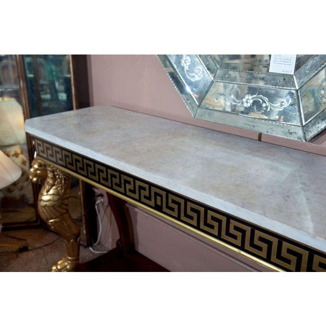 Neoclassical Consoles by Jansen - A Pair - Image 8 of 10