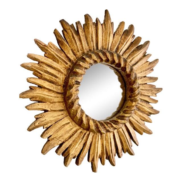 Louis XIV Rope Twist Sunburst Mirror For Sale