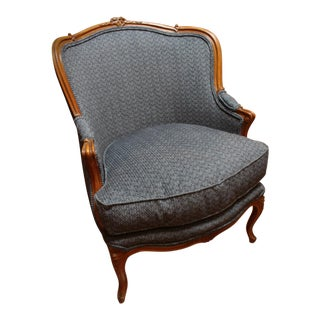 Late 19th Century French Bergere For Sale