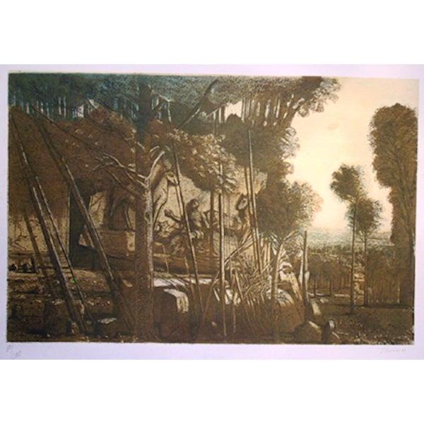 """Ivan Theimer, """"Le Leze,"""" Lithograph For Sale"""