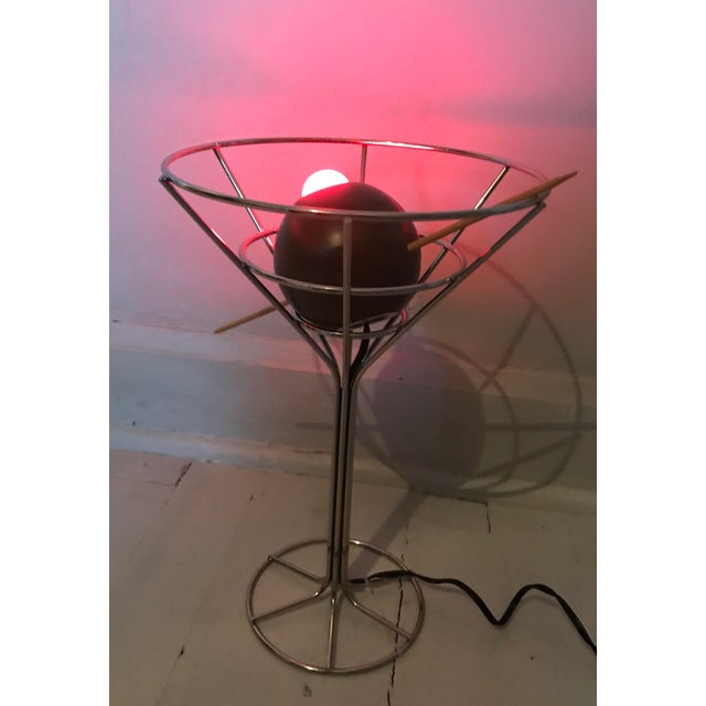 David Krys Original Design Martini Lamp For Sale In Chicago - Image 6 of 6