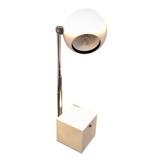 1980s Michael Lax for Lightolier Lytegem Telescoping Task Lamp For Sale