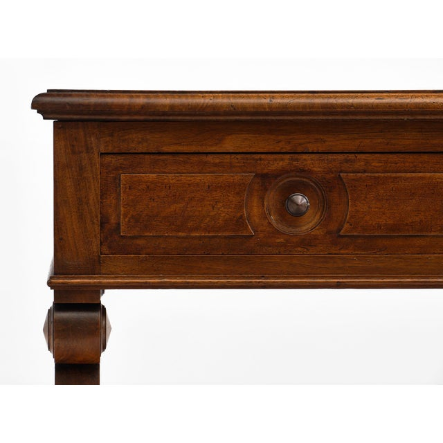 Mid 19th Century Restoration Period French Walnut Console For Sale - Image 5 of 10