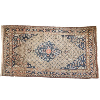 "Vintage Khotan Carpet - 6'4"" X 11'10"" For Sale"