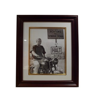 Steve McQueen the Great Escape Print For Sale
