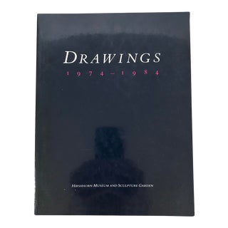 "Hirshhorn Museum ""Drawings 1974-1984"" 1984 Museum Art Book For Sale"