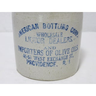 Antique American Stoneware Liqour Jug Preview