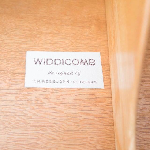 T.H. Robsjohn-Gibbings for Widdicomb Black Lacquered Bachelors Chest - Image 5 of 6