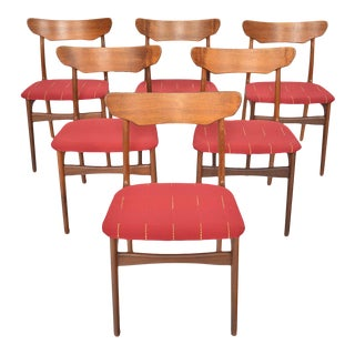 Schionning + Elgaard Teak Dining Chairs - Set of 6 For Sale