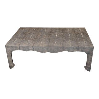 Chinoiserie Shagreen Coffee Table For Sale