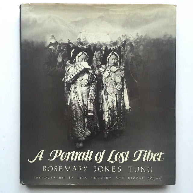 """""""A Portrait of Lost Tibet"""" Cultural History Vintage 1980 1st Edtn Photography Book For Sale - Image 9 of 10"""