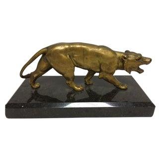 Antique Bronze Lion