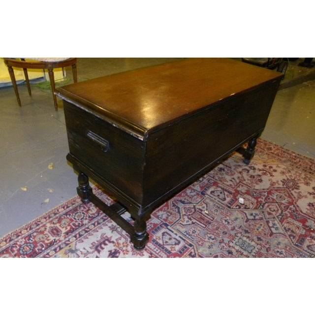 Antique Walnut Cedar Chest by E. R. Roos Co - Image 4 of 11