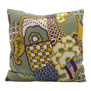 Printed Psychedelic Pillow