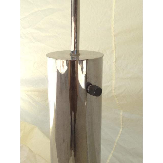 Chrome Cylinder Table Lamp by Nessen Studios NYC - Image 5 of 6