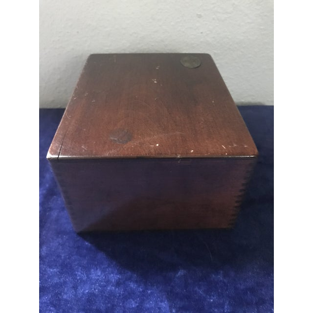 Industrial Vintage s.s. White Dental Manufacturing Company Zinc Cement Supply Box For Sale - Image 3 of 12