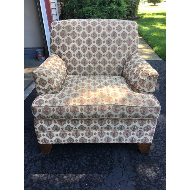 Ethan Allen Kilim Club Chair - Image 2 of 7