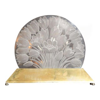 "Rare Luminaire by René Lalique, ""Tulipes"" For Sale"