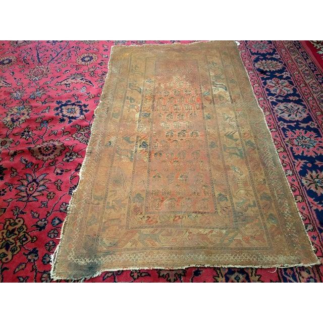 19th Century Kazak Rug 3′1″ × 5′6″ For Sale - Image 12 of 13