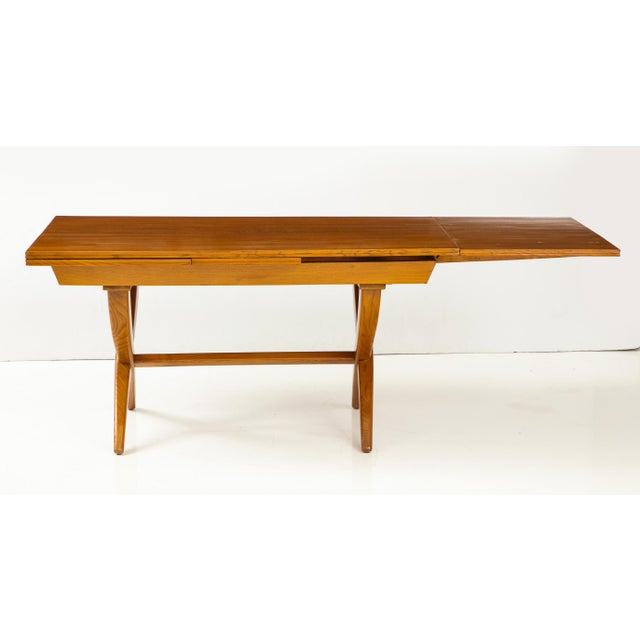 Guglielmo Pecorini Extension Dining Table For Sale In New York - Image 6 of 13