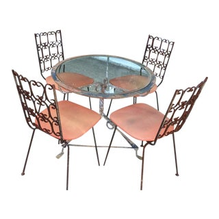 Arthur Umanoff Granada Chairs & Table