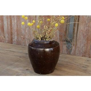 Antique Ebony Mandalay Martaban Jar Preview