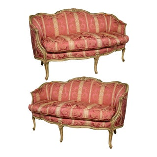 John Widdicomb French Louis XV Settees - A Pair