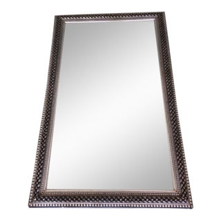 Late 1800's Large Frame With Beveled Mirror