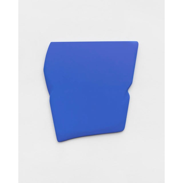 """Contemporary Jaena Kwon """"Dimple"""" Minimal Abstract Colorful Acrylic Shapes Artwork in Frame For Sale - Image 3 of 3"""
