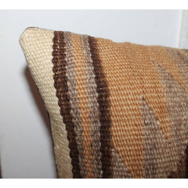 Early Transitional Navajo Indian Weaving Pillows For Sale In Los Angeles - Image 6 of 7