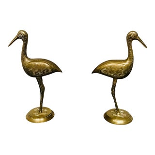 Crane Book Ends For Sale