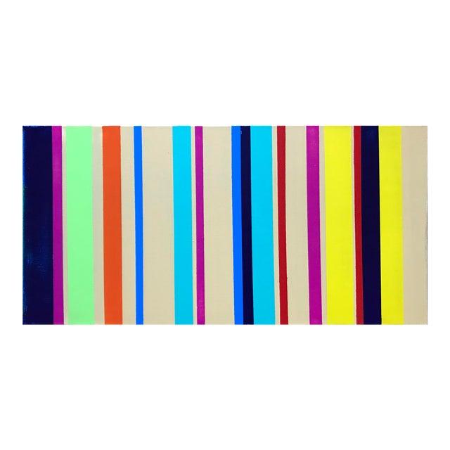 Rhythm No. 13 Acrylic Painting - Image 1 of 4