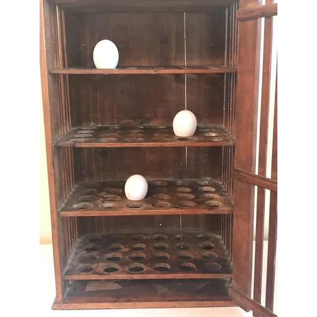 1930s French Walnut Egg Wall Cabinet For Sale In Washington DC - Image 6 of 12