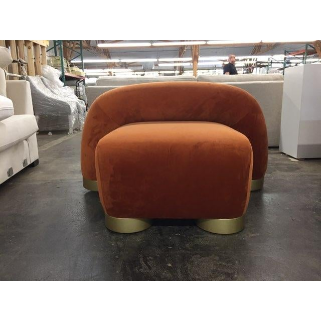 Modern Twist Lounge Chair For Sale - Image 4 of 5