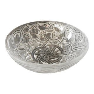 Rene Lalique Bowl Pinsons Pattern For Sale