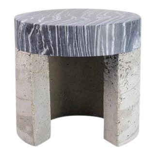 Big Flower Temple Side Table For Sale