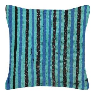 "1960s Turkish Hemp Pillow - 16"" X 16"" For Sale"
